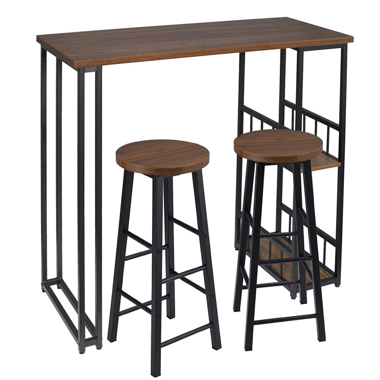1 X Bar Table 2 Stools With