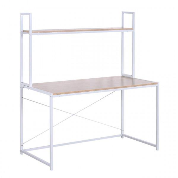 Schreibtisch mit Ablage in praktischem Design TSB09hei