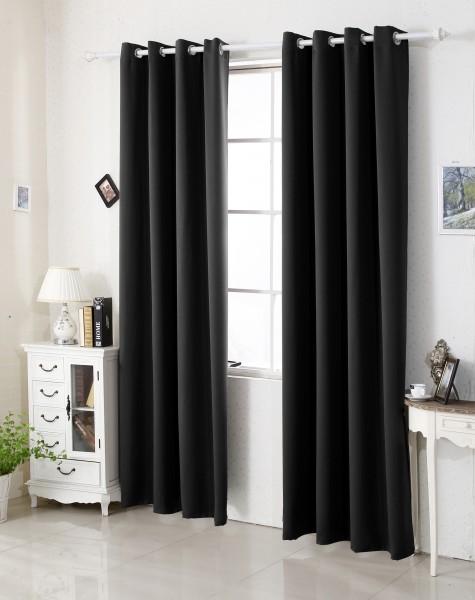 Sehr Schöne Vorhänge aus 100% Polyester mit Ösen im 11 Farben & 3 größe bei Woltu