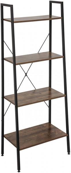 Standregal Haushaltsregal Holz Stahl, vintage