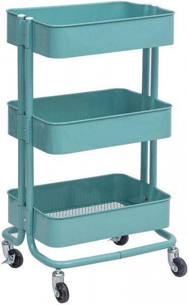 Kitchen trolley trolley with 3 levels made of metal