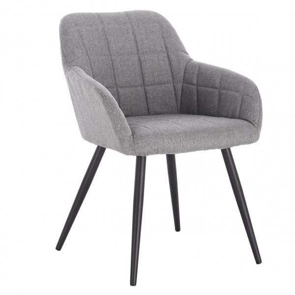 Linen dining chair - Model Elegant
