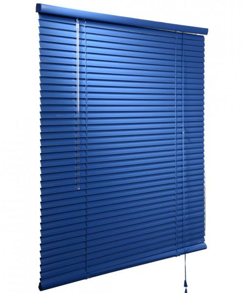 Jalousie Aluminium lichtdurchlässig Blau B 80cm x L 180cm