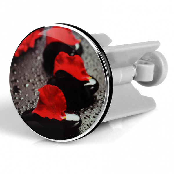 Waschbeckenstöpsel Red Stones