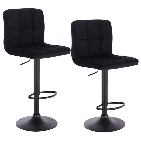 Bar stools in a set of 2, model Sally