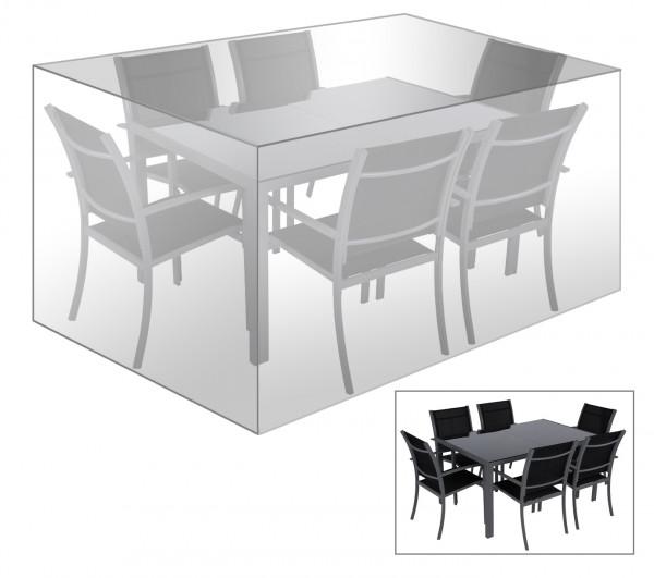 Schutzhülle Schutzhaube für Sitzgruppe, Transparent GZ1194tp