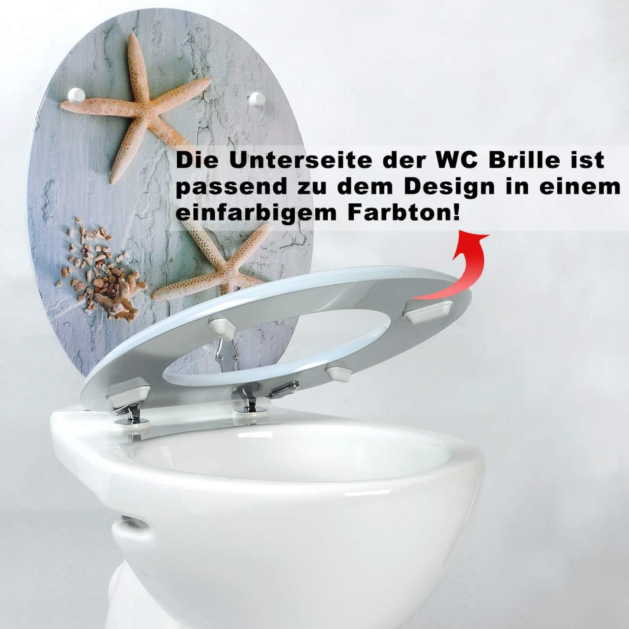 WOLTU #2 Premium WC-Sitz Toilettensitz mit Absenkautomatik ...