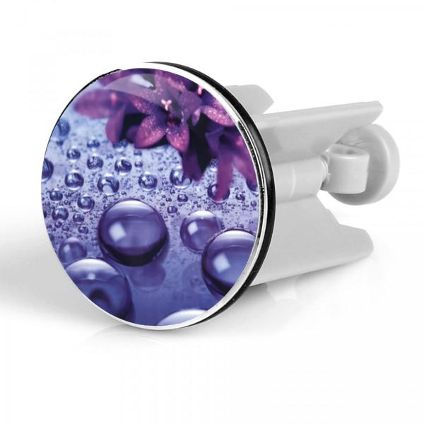 Waschbeckenstöpsel Violett