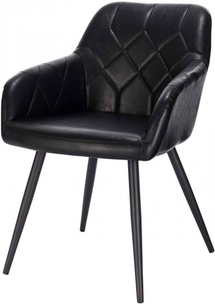 Leatherette dining chair - Aras model