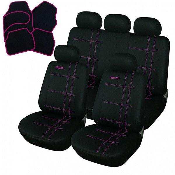 Auto Sitzbezüge + Fußmatten Classic