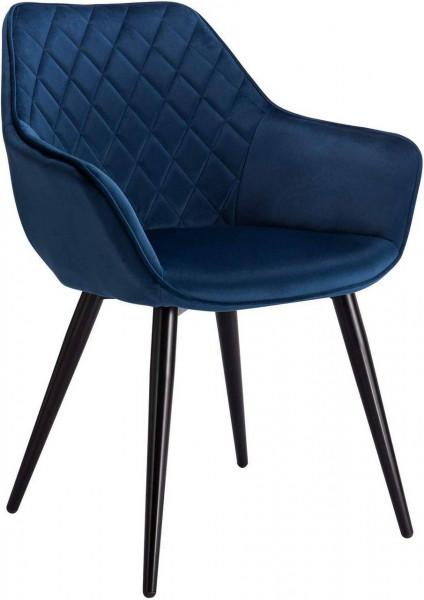 Velvet dining chair - Model Beca