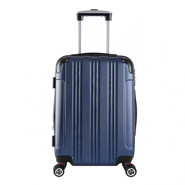 Premium Luggage Lightweight Suitcase Hard Shell Carry on Trolley Case 4 Wheel