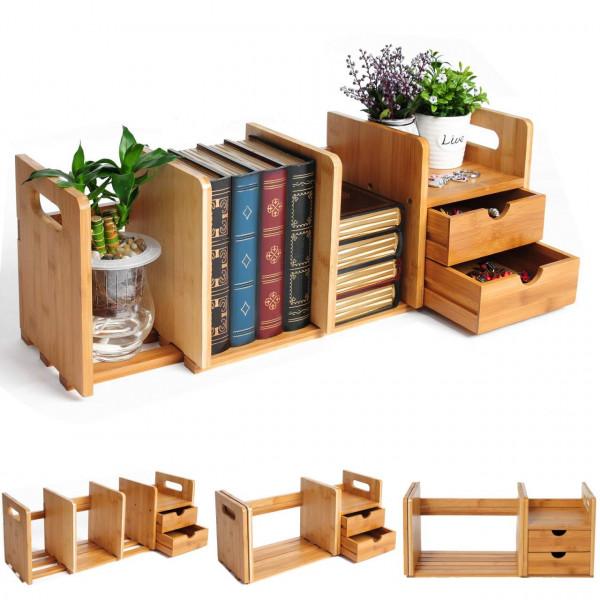 2 Schubladen Standregal Tischorganizer Schreibtisch RG9258br