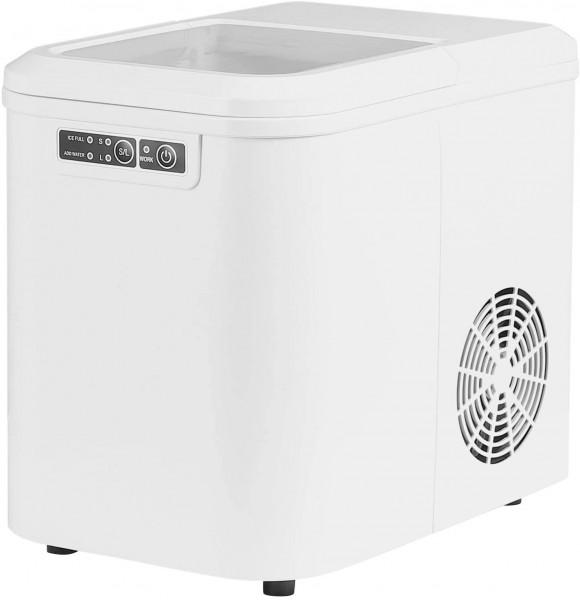 Eiswürfelmaschine mit 2 Eiswürfelgrößen 2,2 Liter 120W ABS