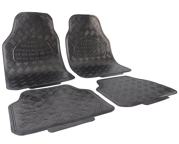 Auto Fußmatten grau matt