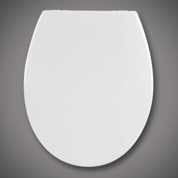 WC-Sitz Kunststoff Weiß mit Absenkautomatik