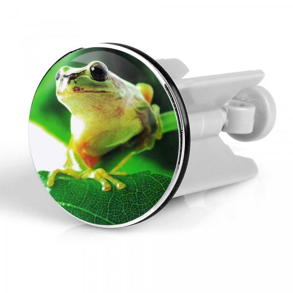 Waschbeckenstöpsel Frog