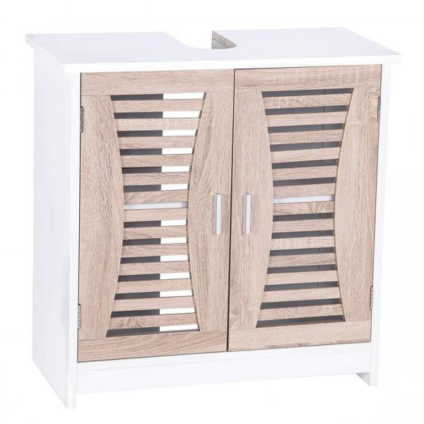 Waschbeckenunterschrank Badschrank Waschtisch Holz