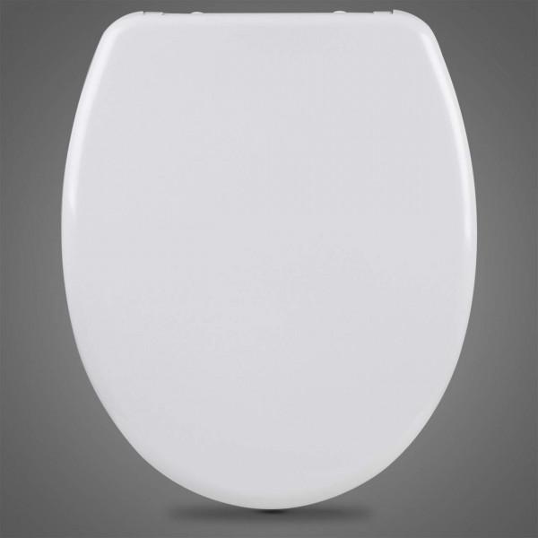 WC-Sitz Duroplast Cremeweiß mit Absenkautomatik und Schnellbefestigung