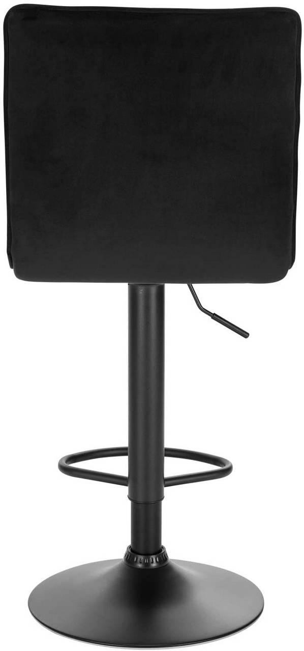 Set Of 2 Bar Stools Bar Chair Made Of Velvet And Metal Nancy Woltu Eu