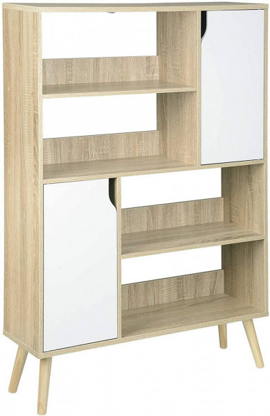 Bookcase 4 compartments made of MDF
