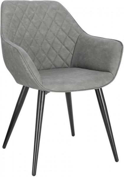 Leatherette kitchen chairs - model Samira