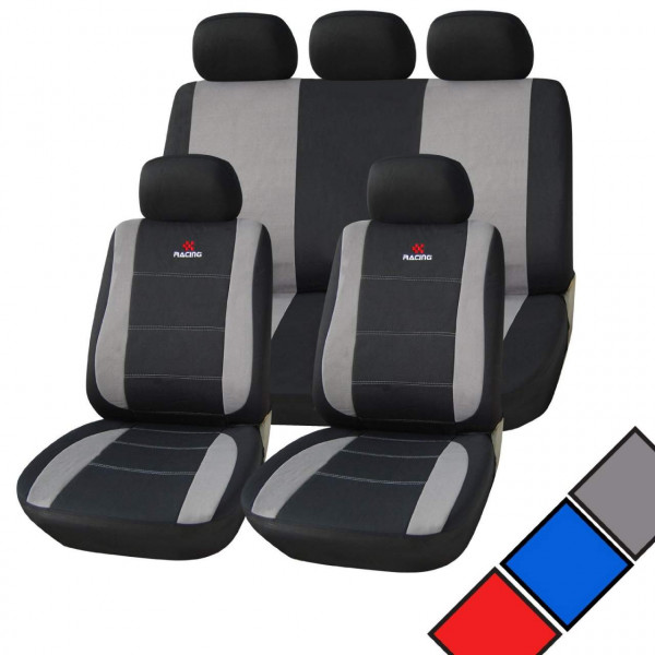 Seat covers in polyester universal size Model Racing