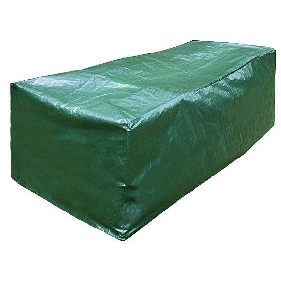 transparent 230 x 135 x 70 cm Komfort Schutzhülle für Sitzgruppe oval