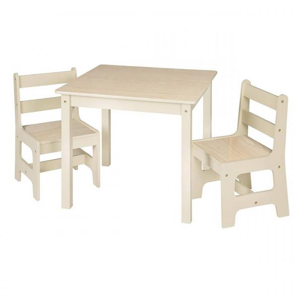 Kindertisch mit 2 Stühle Sitzgruppe für Kinder