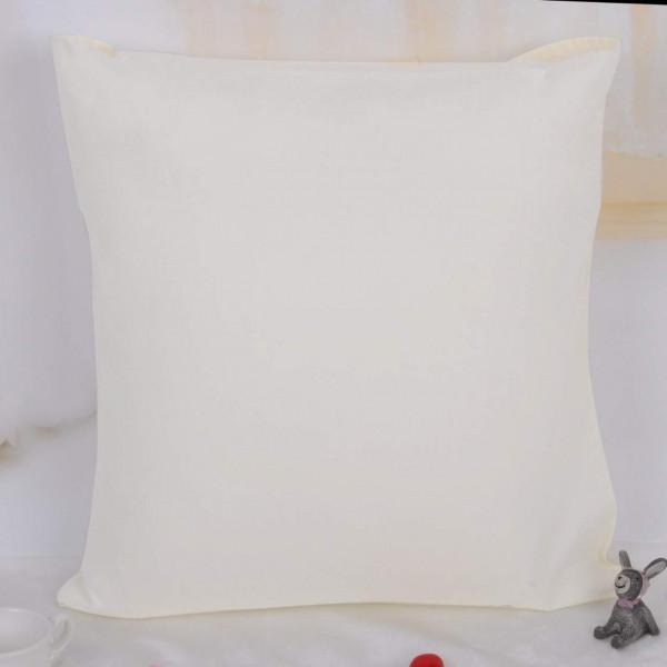 Kissenbezug 100% Baumwolle 25x25cm