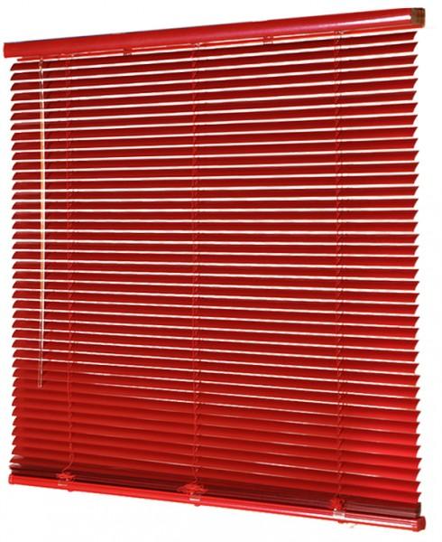 Jalousie Aluminium lichtdurchlässig Rot B 80 cm x L 180 cm