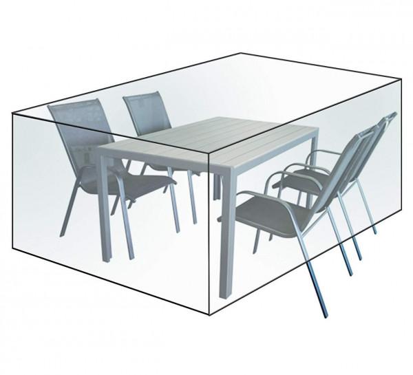 Gartenschutzhülle für Sitzgruppen Transparent