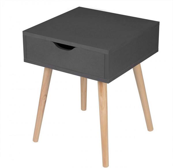 Nachtkommode Nachttisch mit Schublade minimalistisches Design