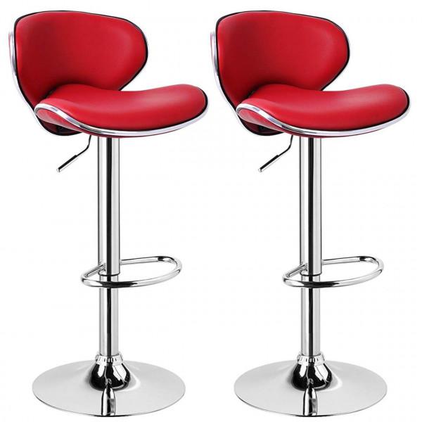 Set of 2 bar stools, model retro