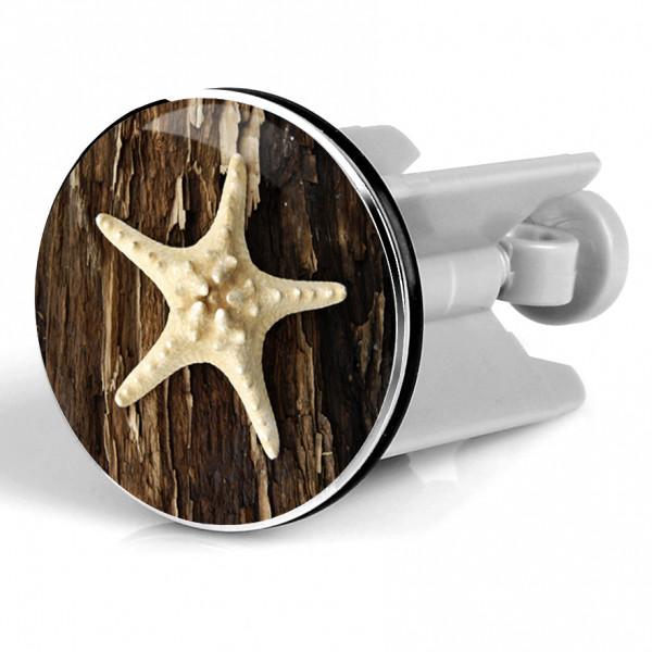 Waschbeckenstöpsel starfish on tree
