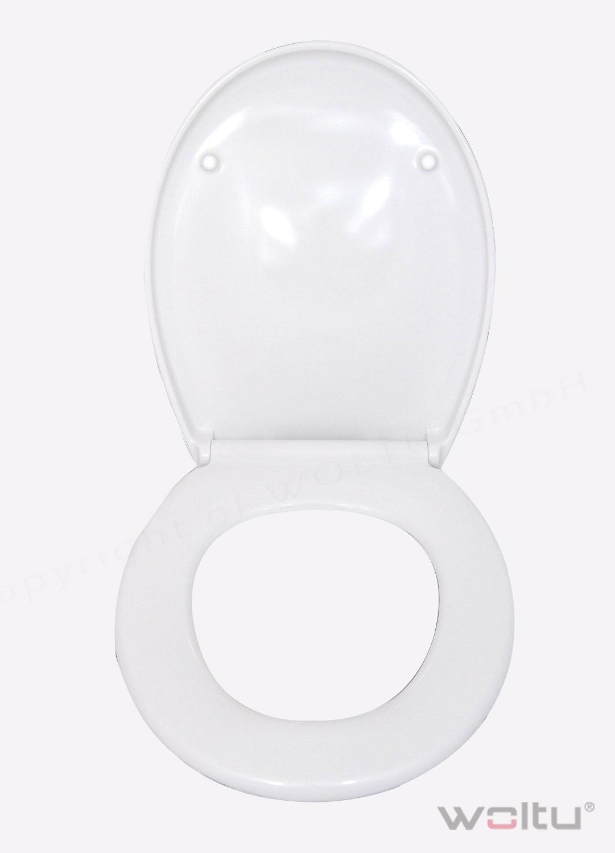 WOLTU 2423 Premium WC-Sitz mit Absenkautomatik, Duroplast ...