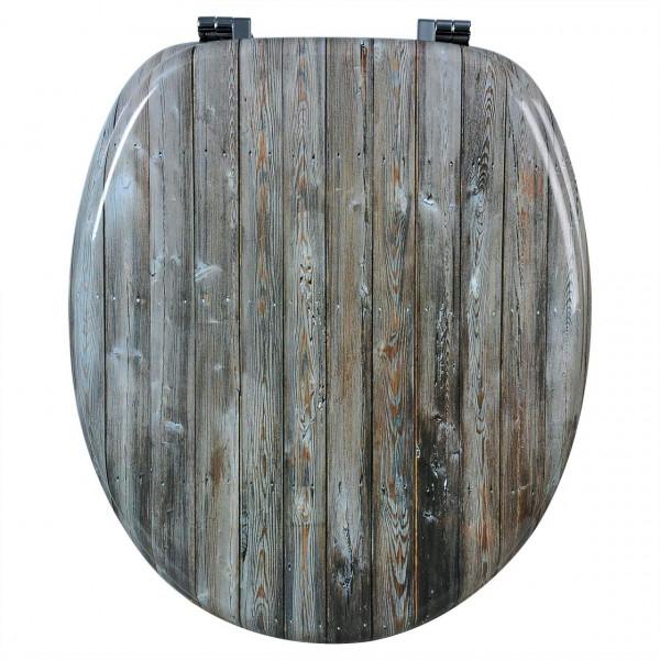 WC-Sitz MDF Wood Wand