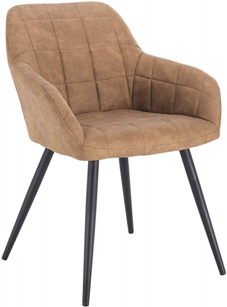 Esszimmerstuhl aus Stoffbezug Modell Rita