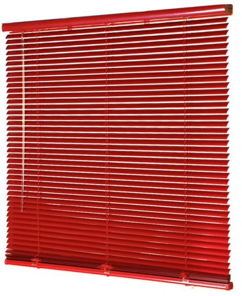Jalousie Aluminium lichtdurchlässig Rot B 100 cm x L 180 cm