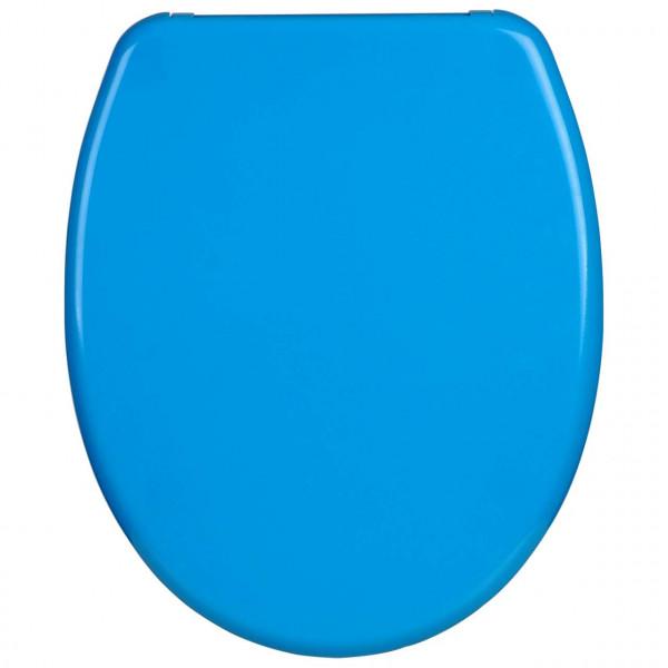 Toilettensitz Duroplast Soft Close Fast Fix Blau