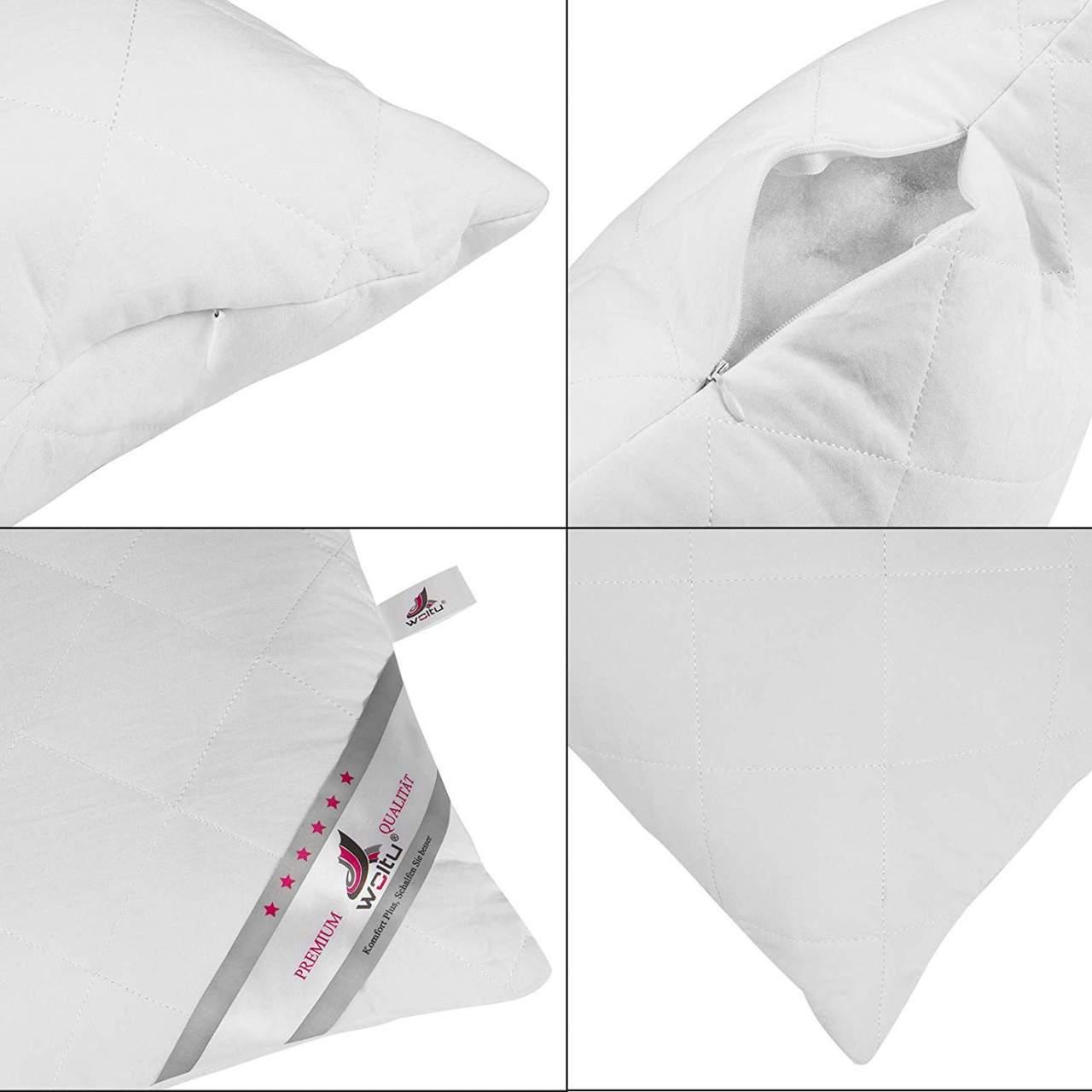Kuke Premium Hypoallergenic PP Cotton Striped Cushion Inner Insert Pad