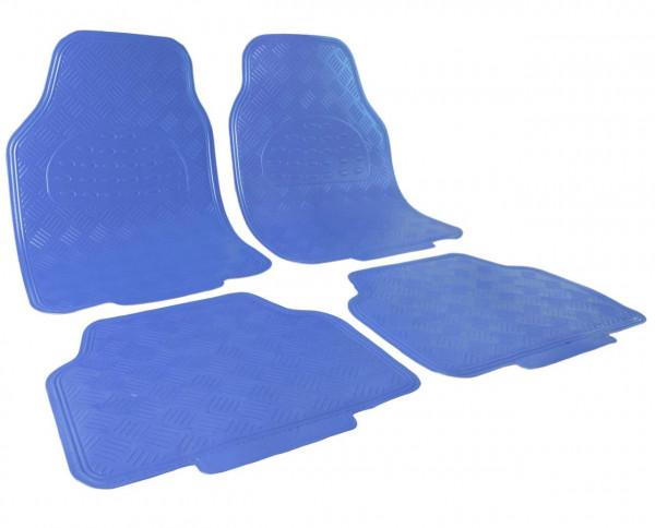 Auto Fußmatten Klassisch Blau
