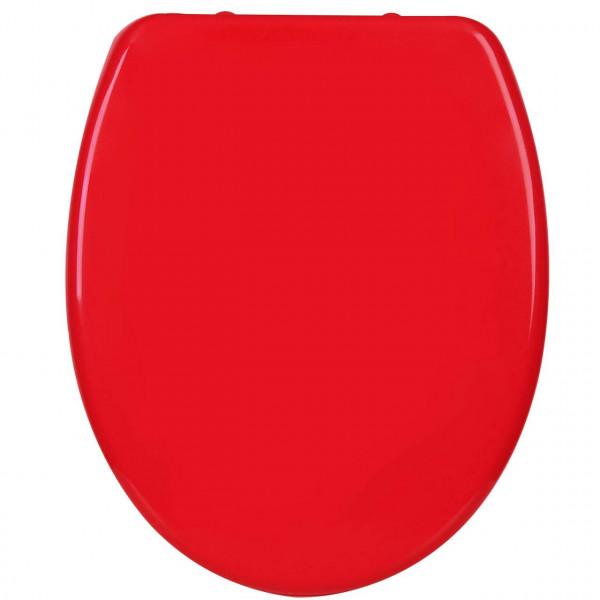 WC-Sitz Duroplast Rot mit Absenkautomatik