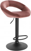 Bar stools with velvet handle - model Karin