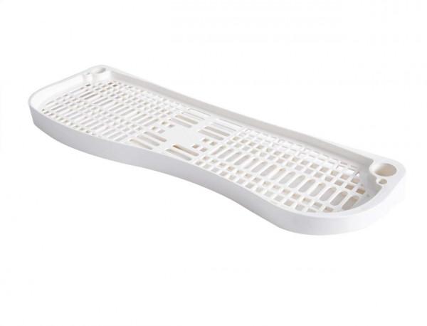 Regalboden Zubehör für Regal Waschmaschine Regal Aufbewahrungssystem weiß BZ4110