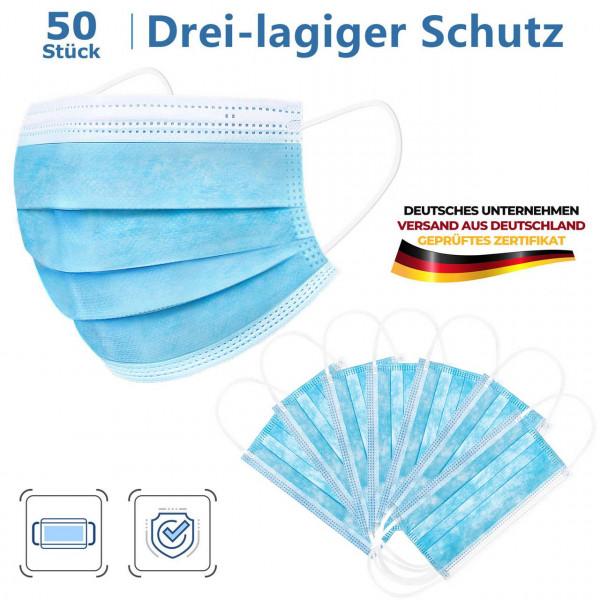 Atemschutzmaske Mundschutz EN149 (FFP2 N95) 50 Stk