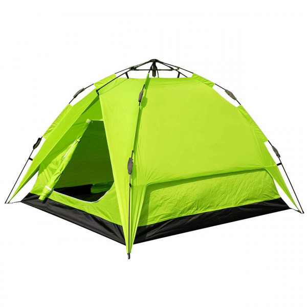 Waterproof camping tent in blue for 2 to 3 persons