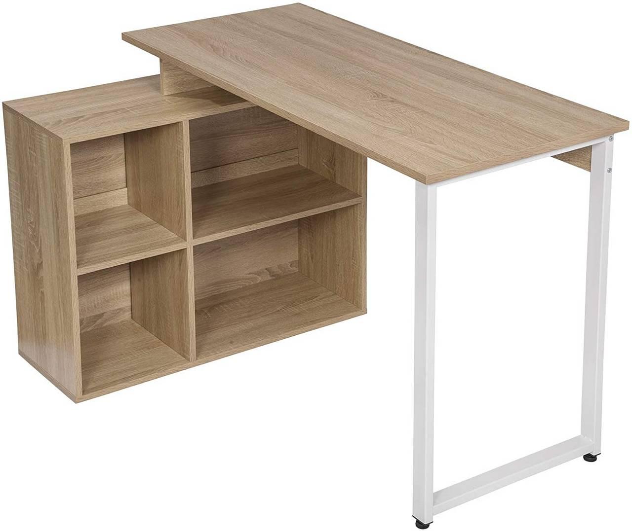 - Desk With Wooden Shelves - Model Jessy Woltu.eu