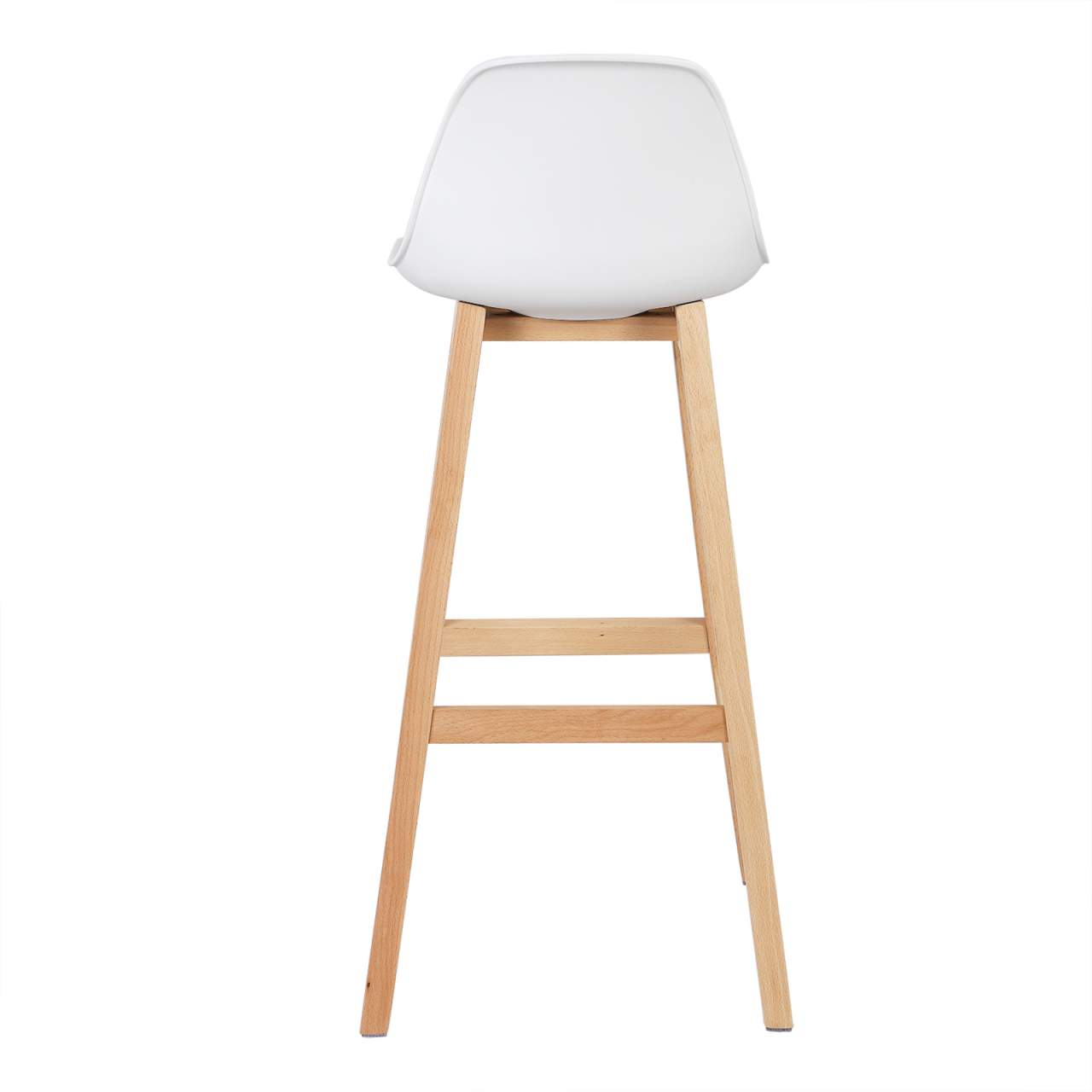 Breakfast Kitchen Counter Chairs Bar Stools Set of 9 , White