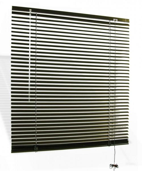 Jalousie Aluminium lichtdurchlässig Braun B 60 cm x L 180 cm